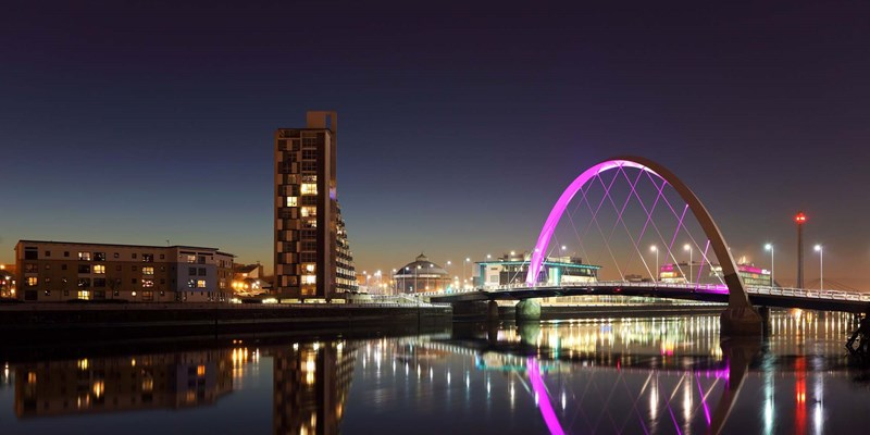 glasgow-night